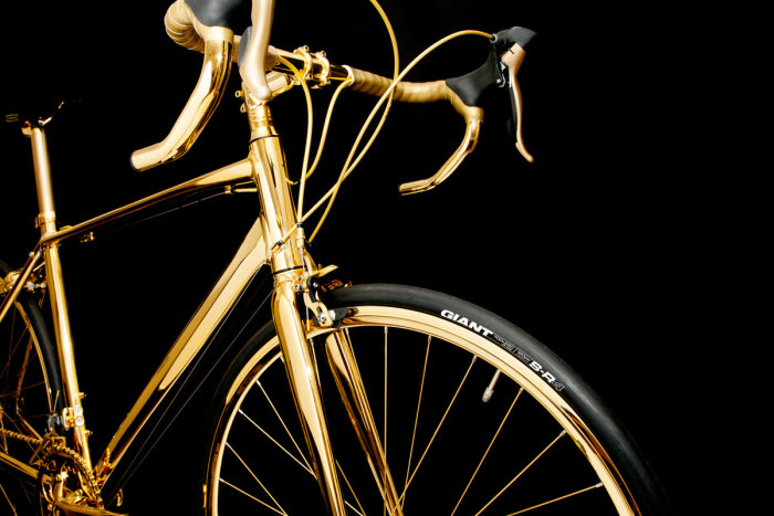 Goldgenie 24K Gold Men's Racing Bike 6