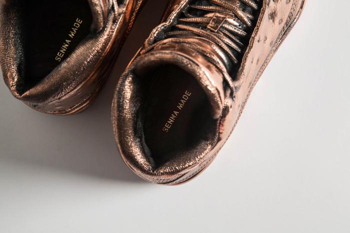 Matthew Senna Bronzed Air Jordan Study 6