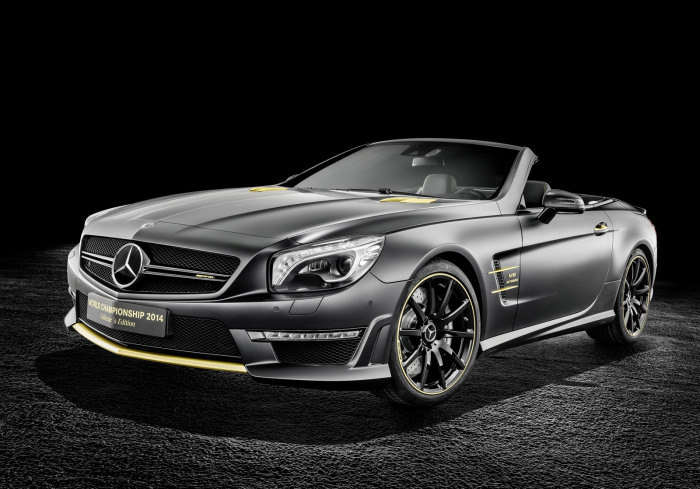 Mercedes-Benz SL63 AMG World Championship 2014 Collector's Edition 1