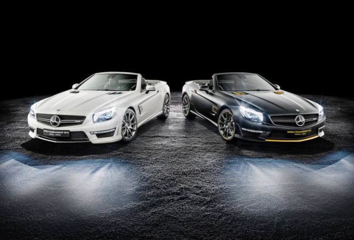Mercedes-Benz SL63 AMG World Championship 2014 Collector's Edition 2