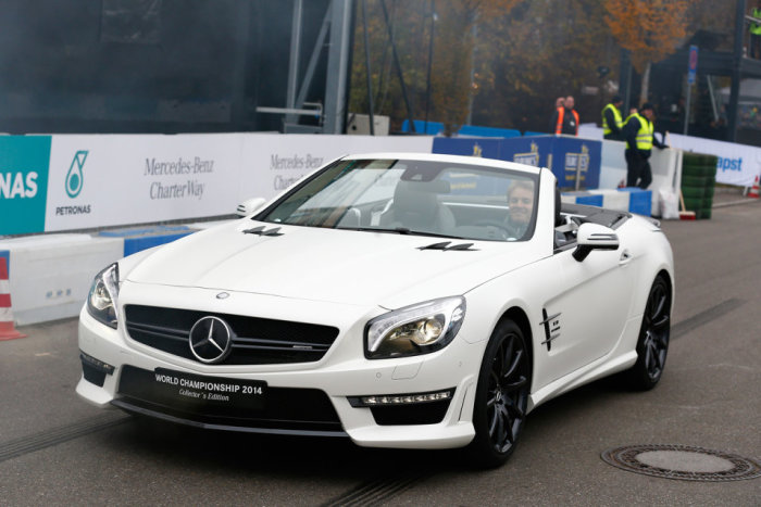 Mercedes-Benz SL63 AMG World Championship 2014 Collector's Edition 7