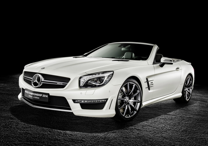 Mercedes-Benz SL63 AMG World Championship 2014 Collector's Edition 9