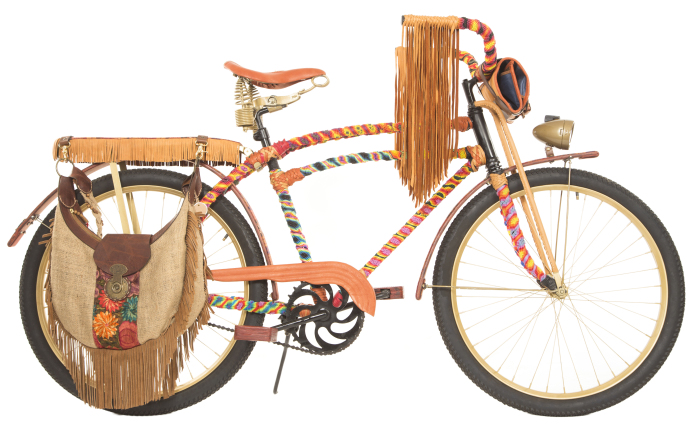 Will Woodstock Hippie Bike 1