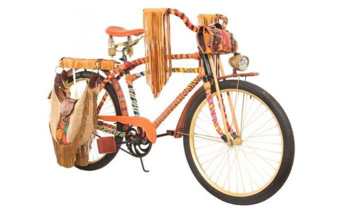 Will Woodstock Hippie Bike 2