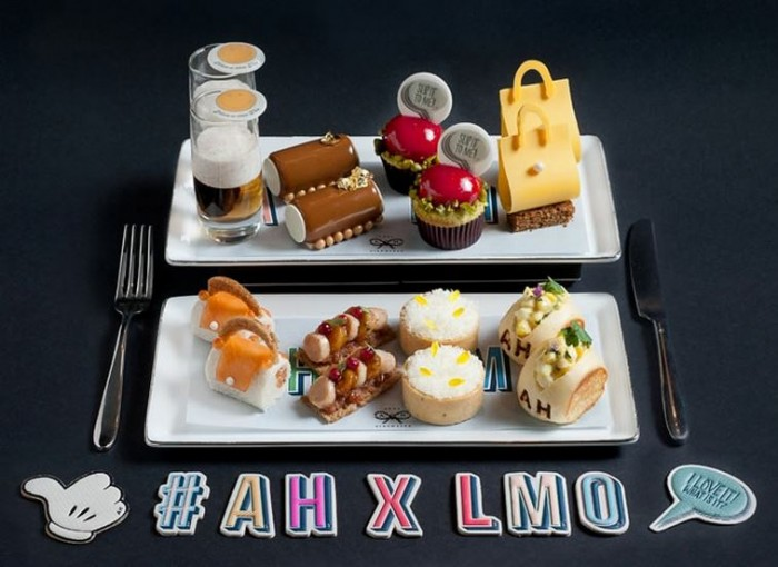 Anya Hindmarch Afternoon Tea At LMO