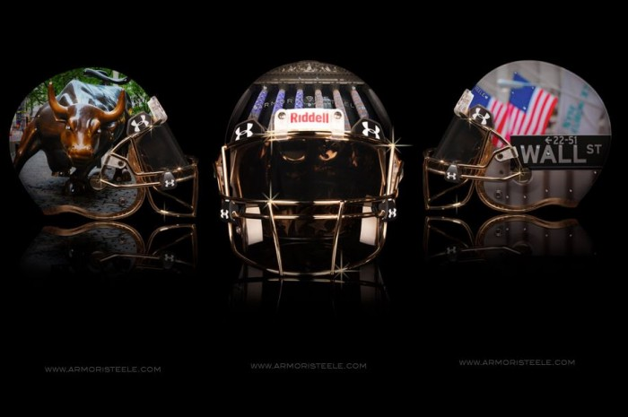 Armorie Steel Home Of The Brave Football Helmets 3