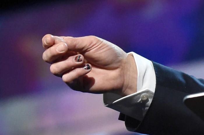 Brad Pitt Nail Art 1