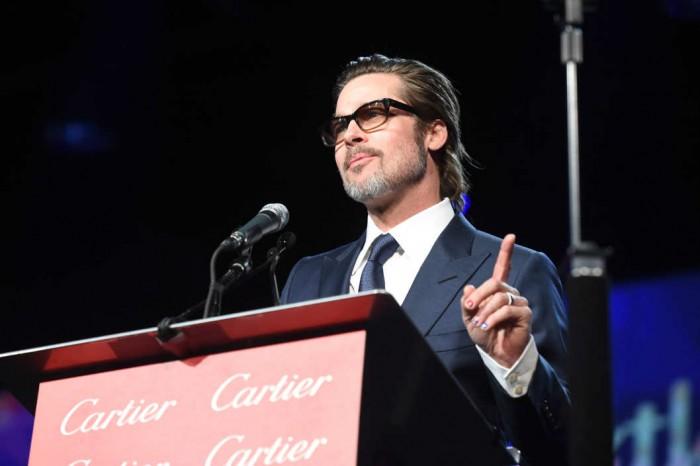 Brad Pitt Nail Art 2