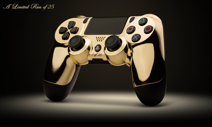 ColorWare Sony DualShock 4 24k 2