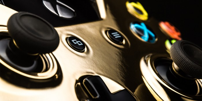 ColorWare Xbox One Controller 24k 2