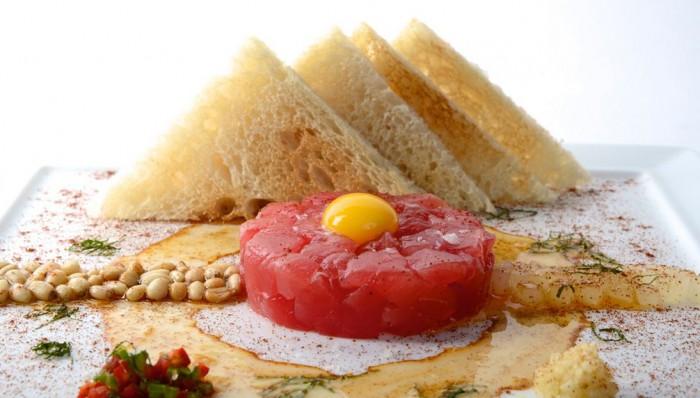 Culinary Kickoff Ahi Tuna Tartare