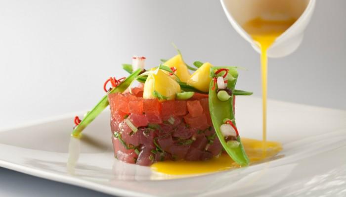 Culinary Kickoff Tuna Tartare