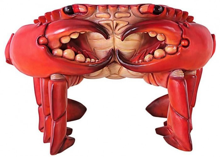 Giant Red King Crab Chair 1