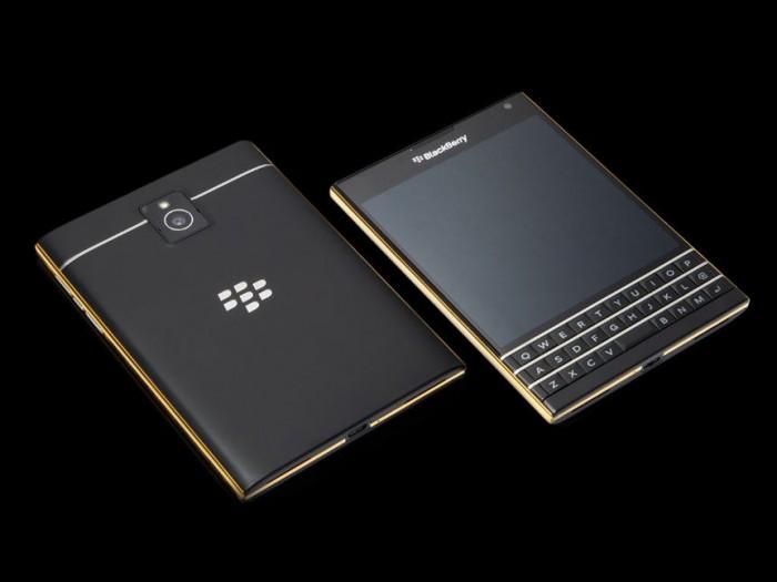 Goldgenie BalckBerry Passport Gold