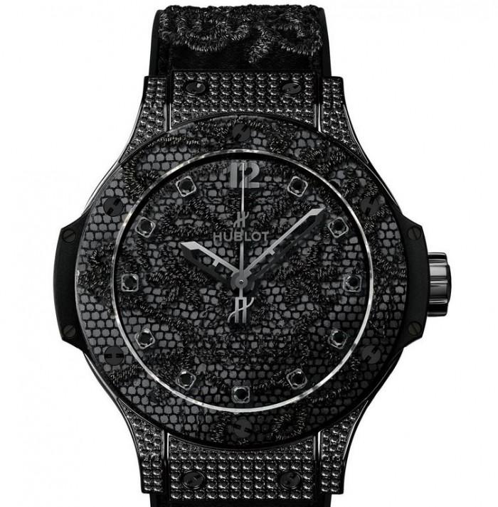 Hublot Big Bang Broderie All Black Diamonds