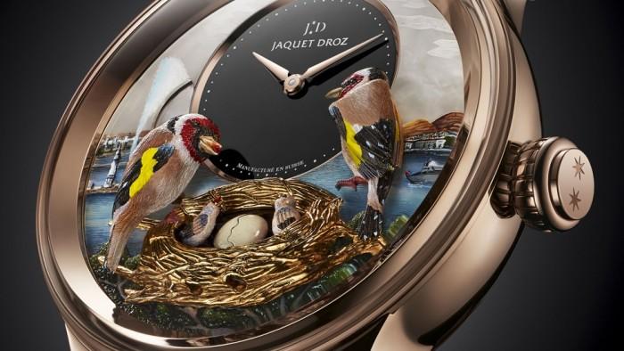 Jaquet Droz Bird Repeater Geneva 2