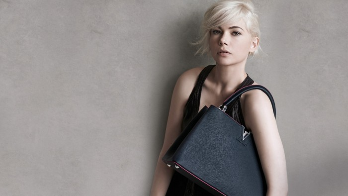 Louis Vuitton Capucines with Michelle Williams 1