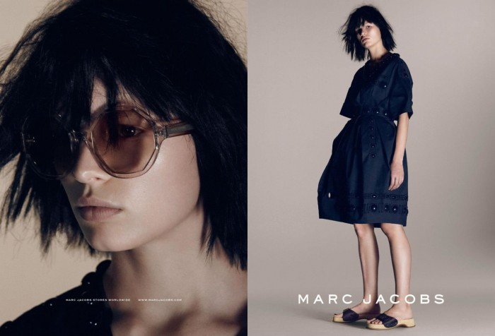 Marc Jacobs SS2015 - Anna Ewers