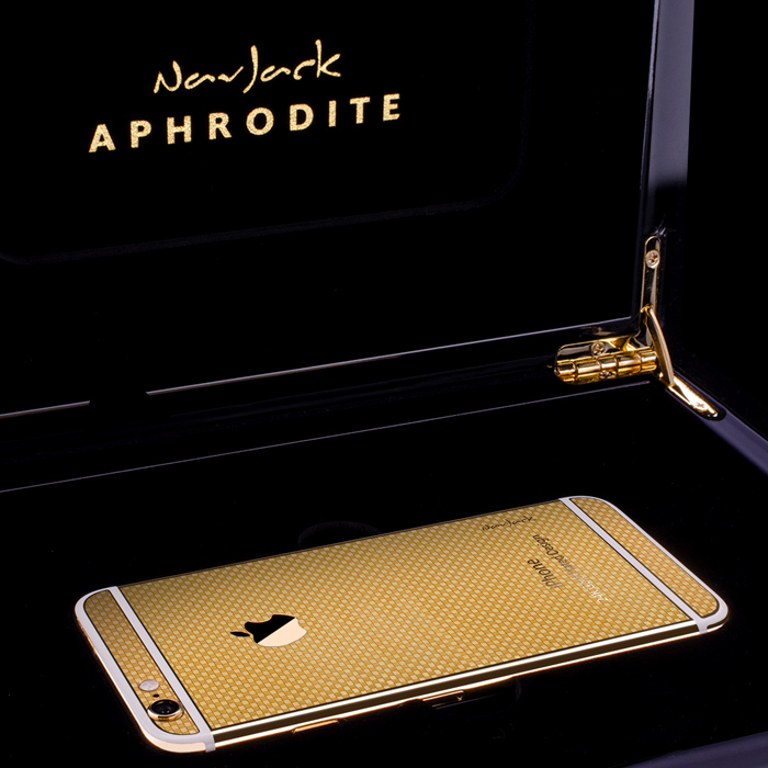NavJack Gold Plated iPhone 6 -5