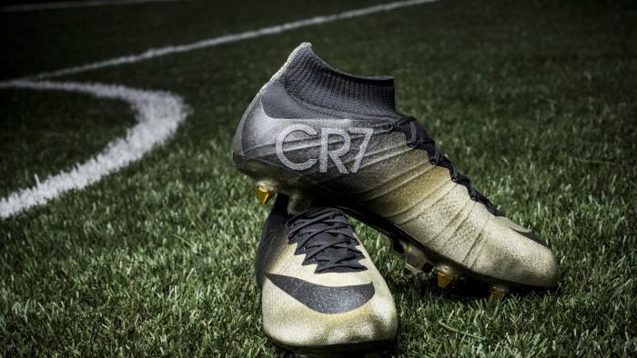 Nike Mercurial CR7 Rare Gold 1
