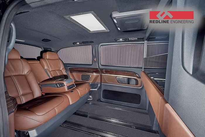 REDLINE Mercedes V-Class Mobile Office 1