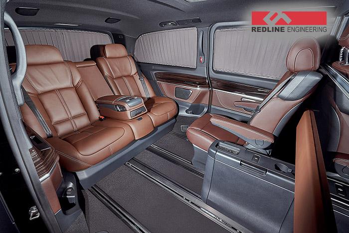 REDLINE Mercedes V-Class Mobile Office 2