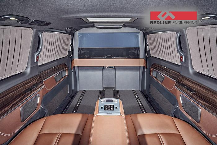 REDLINE Mercedes V-Class Mobile Office 3