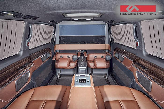 REDLINE Mercedes V-Class Mobile Office 4