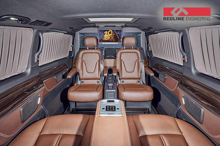 REDLINE Mercedes V-Class Mobile Office 5