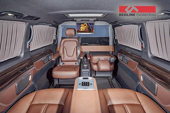 REDLINE Mercedes V-Class Mobile Office 6