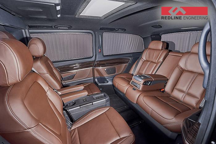 REDLINE Mercedes V-Class Mobile Office 8