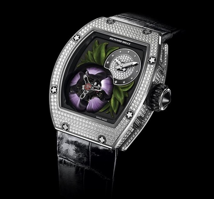 Richard Mille 19-02 Tourbillon Fleur Flying Tourbillon 1