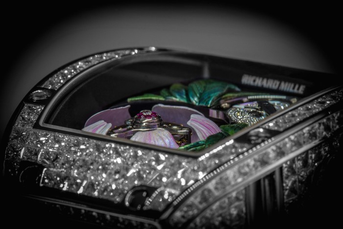 Richard Mille 19-02 Tourbillon Fleur Flying Tourbillon 2