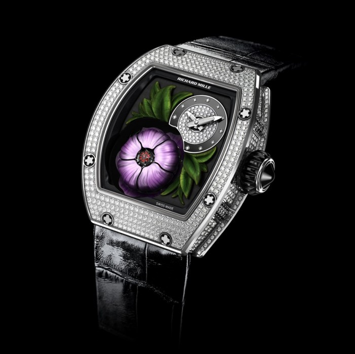 Richard Mille 19-02 Tourbillon Fleur Flying Tourbillon 5
