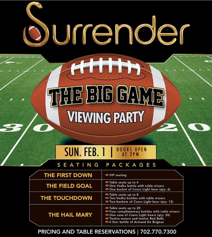 Surrender Nightclub Vegas 3