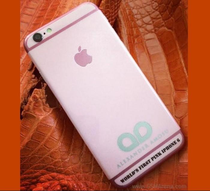 Alexander Amosu Pink iPhone 6