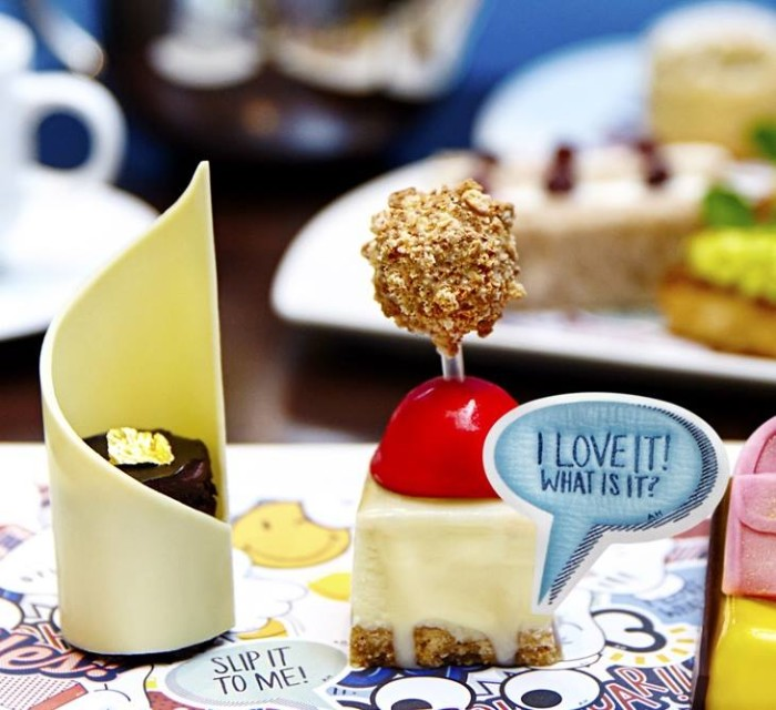 Anya Hindmarch Afternoon Tea Mayfair London FW 2