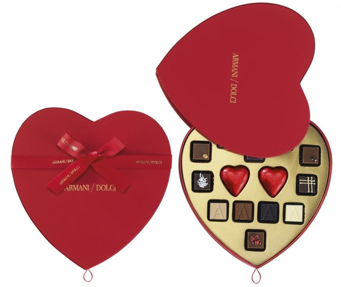 Armani Dolci 2015 Valentine's Chocolates 1