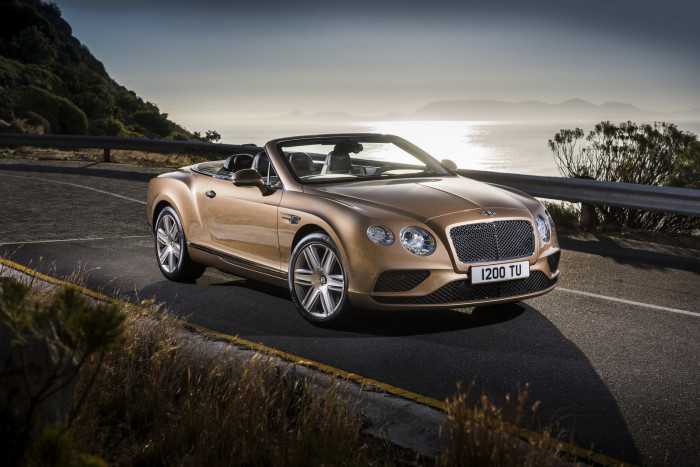 Bentley Continental GT CabrioletPhoto: James Lipman / jameslipman.com