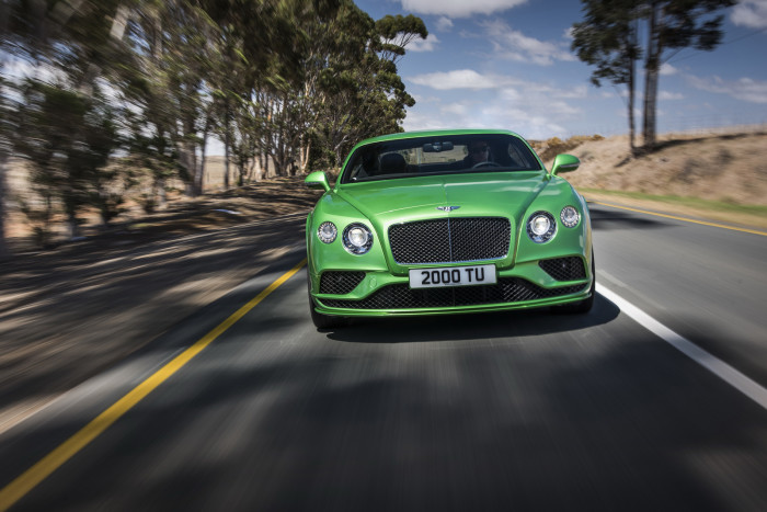 Bentley 2015 Continental GT 4