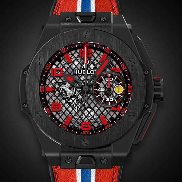 Big Bang Ferrari Black Ceramic 3