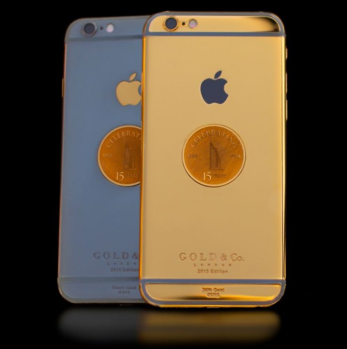 Burj Al Arab 15 Anniversary Gold iPhone 6 - 1