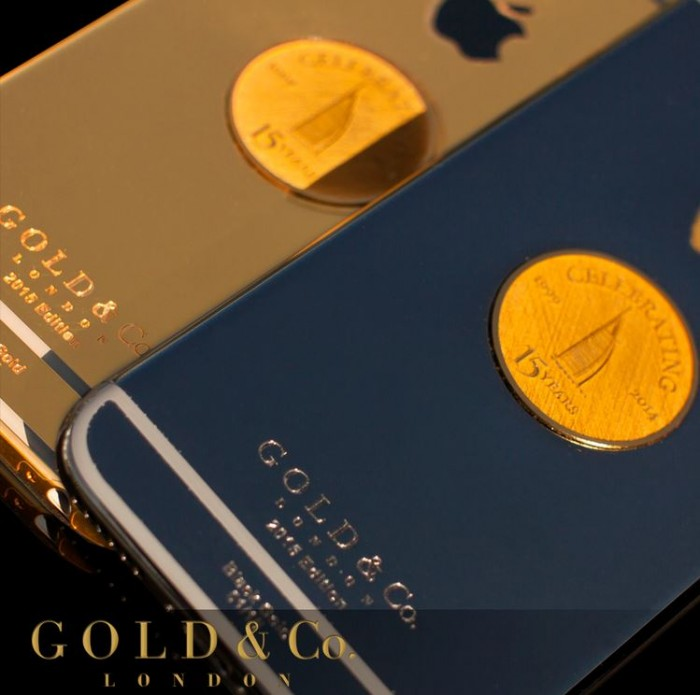 Burj Al Arab 15 Anniversary Gold iPhone 6 - 2