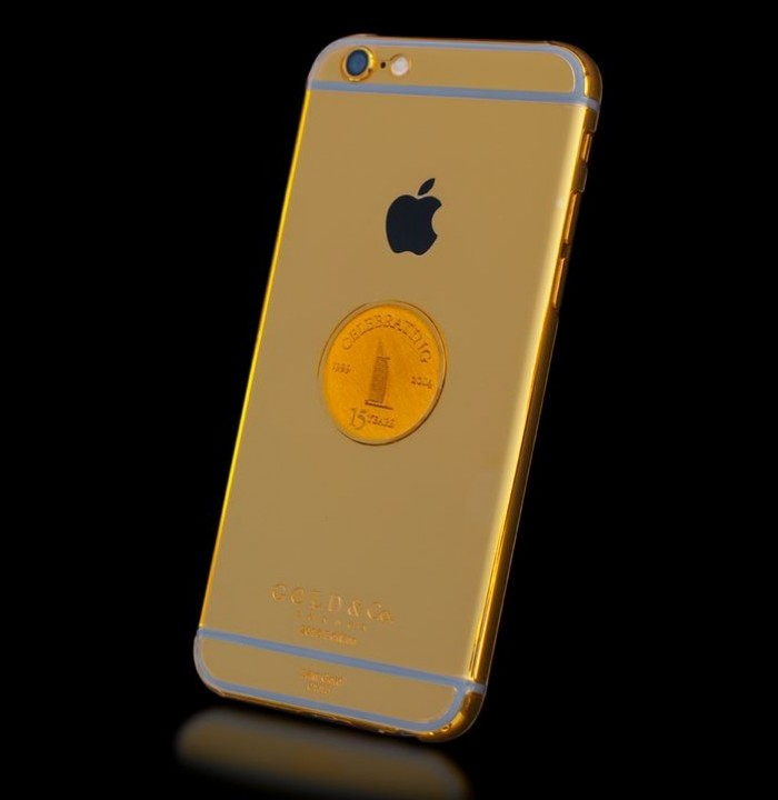 Burj Al Arab 15 Anniversary Gold iPhone 6 - 3