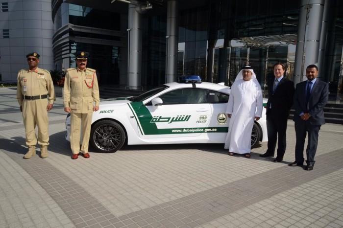 Dubai Police Lexus RC F 2