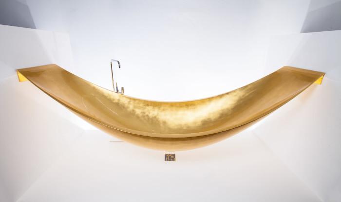 Gold Vessel Hammock Bath Tub 5
