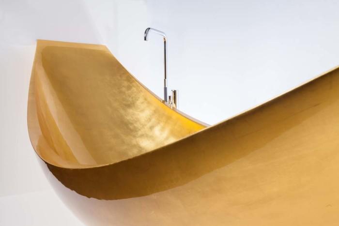 Gold Vessel Hammock Bath Tub 6