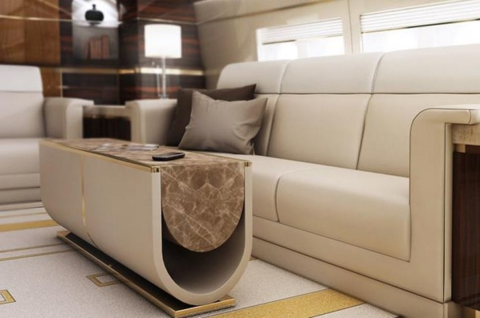 Greenpoint Boeing 747-8 VIP Interiors 1