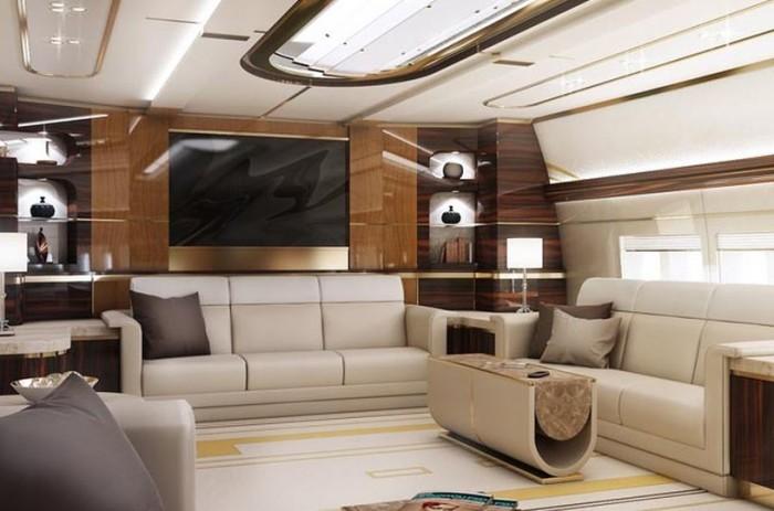 Greenpoint Boeing 747-8 VIP Interiors 3