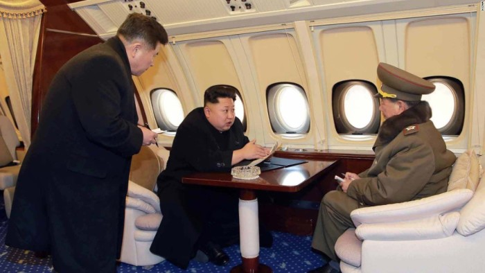Kim Jung-Un Private Jet 1